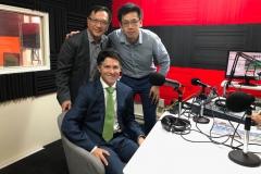 新州Ryde議員Victor Dominello到訪2CR中文廣播電台