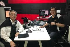 有情天地節目主持李學儒先生訪問醫學焦點嘉賓主持梁浩然醫生