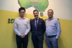 發展商Frasers 星獅集團銷售及市場推廣總監(新州住宅)Dino Carulli 先生到訪2CR電台